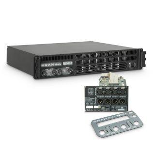 0 Ram Audio S 6004 DSP - Finale di potenza PA 4 x 1440 W 2 Ohm incl. modulo DSP