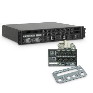 0 Ram Audio S 6044 DSP - Finale di potenza PA 4 x 1480 W 4 Ohm incl. modulo DSP