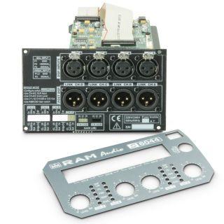 6 Ram Audio S 6044 DSP GPIO - Finale di potenza PA 4 x 1480 W 4 Ohm incl. modulo DSP e GPIO
