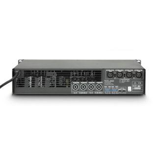 3 Ram Audio S 6044 X OVER - Finale di potenza PA 4 x 1480 W 4 Ohm incl. modulo processore analogico