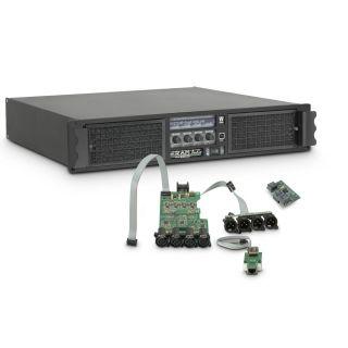 0 Ram Audio W 12004 DSP E AES - Finale di potenza PA 4 x 3025 W 2 Ohm incl. modulo DSP con ingresso digitale AES/EBU + Ethernet