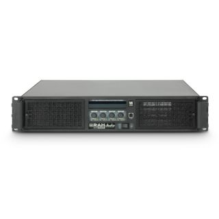 2 Ram Audio W 12044 - Finale di Potenza PA 4 x 2950 W 4 Ohm