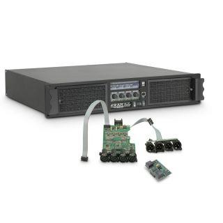 0 Ram Audio W 12044 DSP AES - Finale di potenza PA 4 x 2950 W 4 Ohm incl. modulo DSP con ingresso digitale AES/EBU