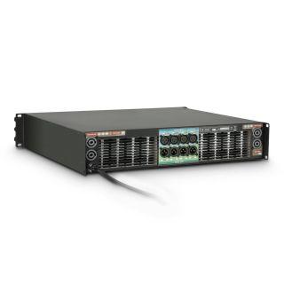1 Ram Audio W 12044 DSP E AES - Finale di potenza PA 4 x 2950 W 4 Ohm incl. modulo DSP con ingresso digitale AES/EBU + Ethernet