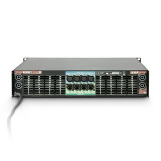 3 Ram Audio W 12044 DSP E AES - Finale di potenza PA 4 x 2950 W 4 Ohm incl. modulo DSP con ingresso digitale AES/EBU + Ethernet