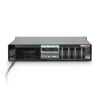 3 Ram Audio W 6000 DSP E AES - Finale di potenza PA 2 x 3025 W 2 Ohm incl. modulo DSP con ingresso digitale AES/EBU + Ethernet