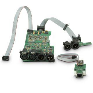 8 Ram Audio W 6000 DSP E AES - Finale di potenza PA 2 x 3025 W 2 Ohm incl. modulo DSP con ingresso digitale AES/EBU + Ethernet