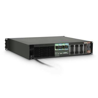 1 Ram Audio W 9000 DSP E AES - Finale di potenza PA 2 x 4400 W 2 Ohm incl. modulo DSP con ingresso digitale AES/EBU + Ethernet
