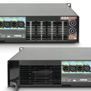 5 Ram Audio W 9000 DSP E AES - Finale di potenza PA 2 x 4400 W 2 Ohm incl. modulo DSP con ingresso digitale AES/EBU + Ethernet