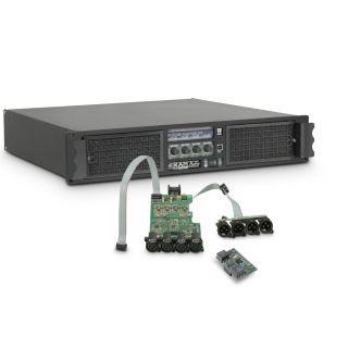 0 Ram Audio W 9004 DSP AES - Finale di potenza PA 4 x 2260 W 2 Ohm incl. modulo DSP con ingresso digitale AES/EBU
