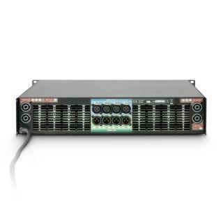 3 Ram Audio W 9004 DSP AES - Finale di potenza PA 4 x 2260 W 2 Ohm incl. modulo DSP con ingresso digitale AES/EBU