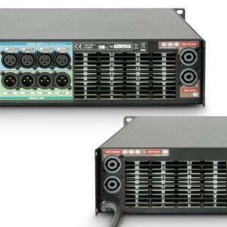 5 Ram Audio W 9004 DSP E AES - Finale di potenza PA 4 x 2260 W 2 Ohm incl. modulo DSP con ingresso digitale AES/EBU + Ethernet