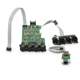 6 Ram Audio W 9004 DSP E AES - Finale di potenza PA 4 x 2260 W 2 Ohm incl. modulo DSP con ingresso digitale AES/EBU + Ethernet