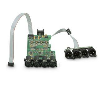 6 Ram Audio W 9044 DSP AES - Finale di potenza PA 4 x 2200 W 4 Ohm incl. modulo DSP con ingresso digitale AES/EBU