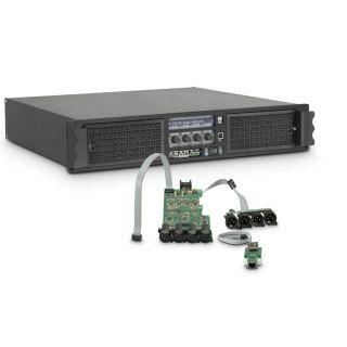 0 Ram Audio W 9044 DSP E - Finale di potenza PA 4 x 2200 W 4 Ohm incl. modulo DSP + Ethernet