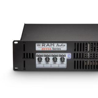 2 Ram Audio Zetta 440 - Finale di Potenza PA 4 x 1000 W 2 Ohm