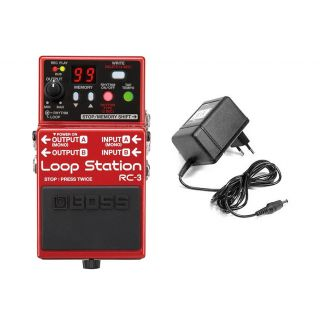 BOSS RC3 Pedale Loop Station USB 2.0 con Alimentatore