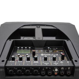 RCF Evox JMix 8 Black - Impianto Line Array con Mixer 700W RMS11