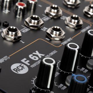 RCF F 6X - Mixer Audio Passivo 6Ch con Effetti05