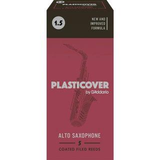 Rico PlastiCover RRP05ASX150 - 5 Ance per Sax Alto in MiB 1 1/2