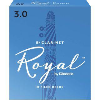 Rico RCB1030 - 10 Ance per Clarinetto in Sib Royal Strength 3.0