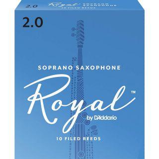 Rico RIB1020 - 10 Ance per Sax Soprano in Sib Royal 2.0