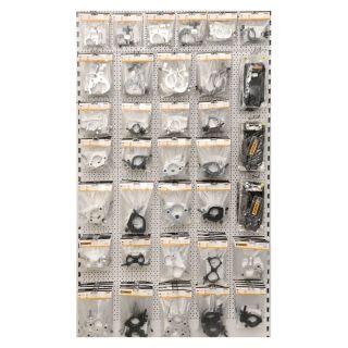 1 RIGGATEC RIG 400 200 001 - Half Coupler color argento con occhiello fino a 100 kg (48-51 mm)