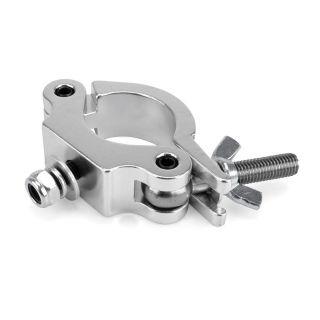 0 RIGGATEC RIG 400 200 005 - Halfcoupler Slim Silver max. load 200kg (48 - 51 mm)
