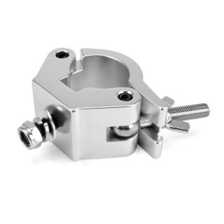 0 RIGGATEC RIG 400 200 035 - Halfcoupler Heavy Silver max. load 750kg (48 - 51 mm)