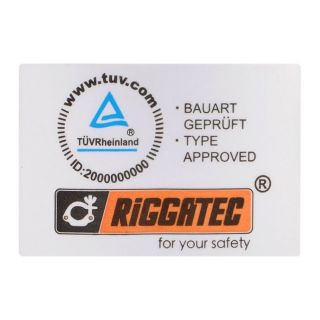 2 RIGGATEC RIG 400 200 050 - Swivel Coupler Heavy Silver max. load 500kg (48 - 51 mm)