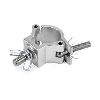 0 RIGGATEC RIG 400 200 960 - Halfcoupler Small Silver max. 75kg (32 - 35 mm)