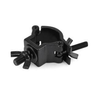 0 RIGGATEC RIG 400 200 970 - Half Coupler piccolo colore nero fino a 75 kg (32-35 mm) in acciaio inox