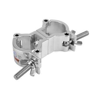 0 RIGGATEC RIG 400 200 975 - Swivel Coupler Slim Silver max. 50kg (32-35 mm)
