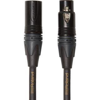 ROLAND Cavo Microfonico Quad Serie Gold XLR/XLR 1mt