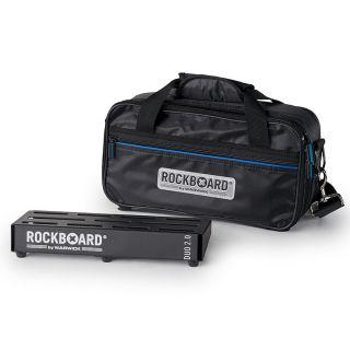 0 Rockboard RBO B 2.0 DUO B Pedalboard Pedaliera con Gig Bag