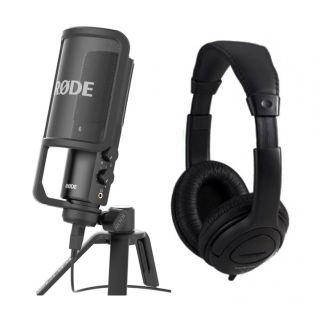 Rode NT USB Pack - Microfono da Studio USB con Cuffie