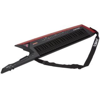 Roland AX Edge Black Keytar 49 Tasti Nera con Stand in Omaggio04