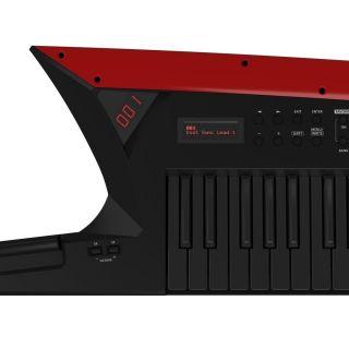 Roland AX Edge Black Keytar 49 Tasti Nera con Stand in Omaggio09