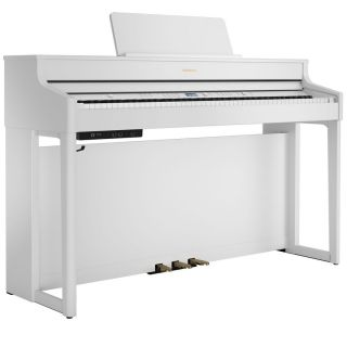 Roland HP702 Bianco Satinato - Pianoforte Digitale 88 Tasti