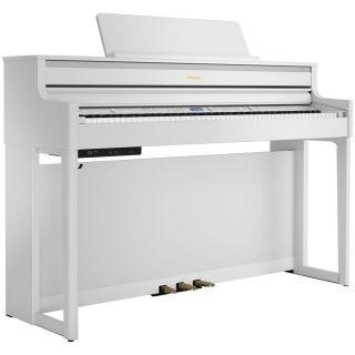 Roland HP704 Bianco Satinato - Pianoforte Digitale 88 Tasti
