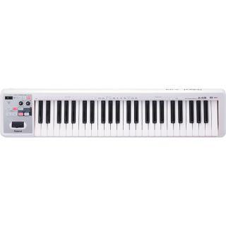 Roland A49 White Controller Tastiera MIDI USB 49 Tasti con Borsa02