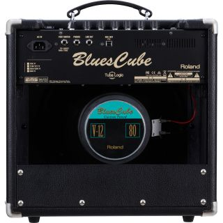 Roland blues cube hot black back