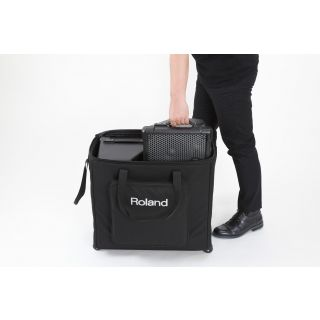 Roland cube street ex pack bag open
