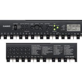 Tastiera CASIO 49 tasti CTK 245 primo piano