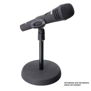 1 Adam Hall Stands S 8 BB - Asta Microfonica da Tavolo