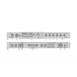 MONACOR SA-130DMP Amplificatore Stereo 140W02