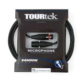 Samson Cavo Microfonico Tourtek XLR M / XLR F 4.5mt02