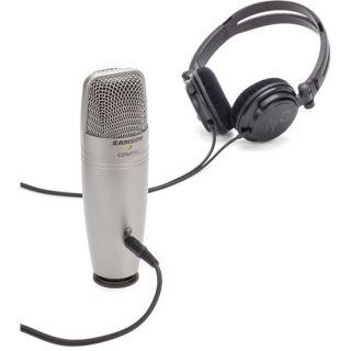 Samson C01U Pro Recording Pack - Microfono da Studio USB con Cuffie 3