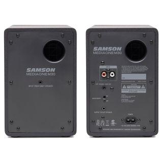 SAMSON Mediaone M30 - Coppia Monitor Attivi Studio 3