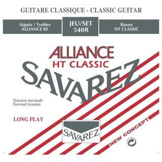 1 Savarez 540R Alliance Set 6 Corde Muta per Chitarra Classica Tensione Normale